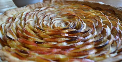 Apfel-Tarte-Rosette